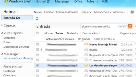 bandeja de entrada msn bandeja de entrada de hotmail c 243 mo acceder