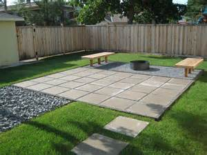 Small Patio Pavers Ideas Paver Patio Grass And Gravel Our Back Shed