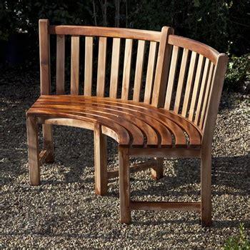 teak curved bench garden art plus ltd antique garden ornaments statues and garden design