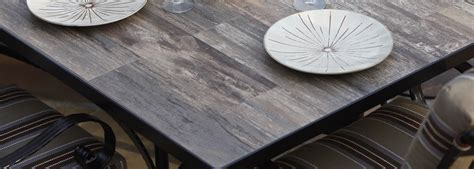 how to a tile table top for outdoors ow reclaimed porcelain tile table tops usa outdoor