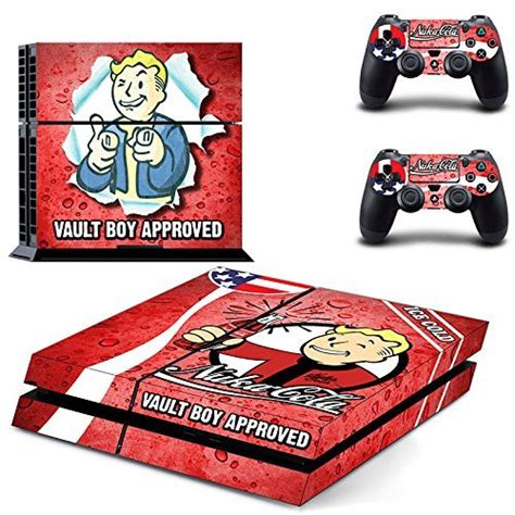 ps4 themes fallout 4 a look at several fallout 4 skin decals for ps4 and xbox