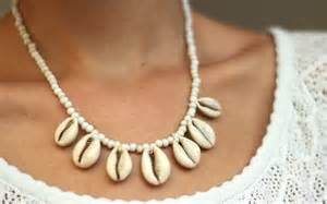 diy shell necklace youtube