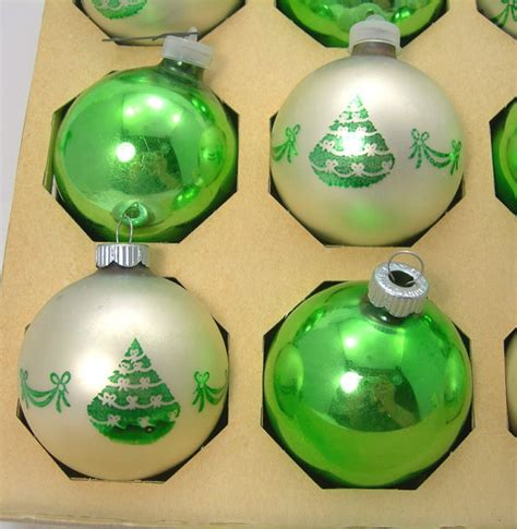 shiny brite christmas tree ornaments balls by