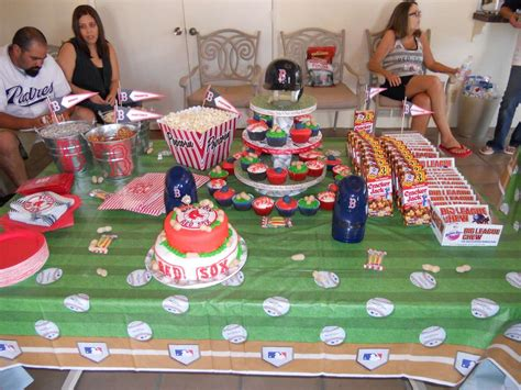 baseball red sox birthday party ideas photo 6 of 18