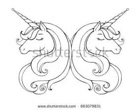 unicorn head stock images royalty free images amp vectors