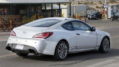 Hyundai Genesis Coup by 2016 Hyundai Genesis Coupe Spied