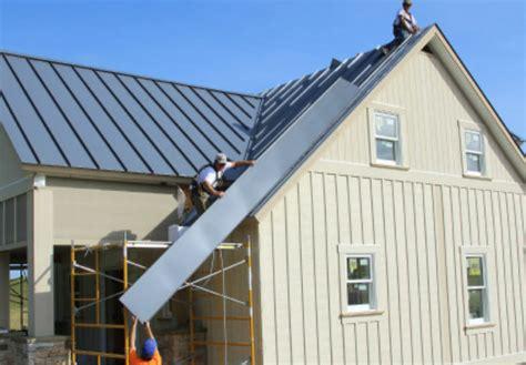 installing steel roofing fine homebuilding snap lock standing seam metal roof installation fine