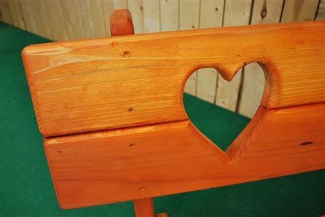 heart bench sea prk heart the redwood store