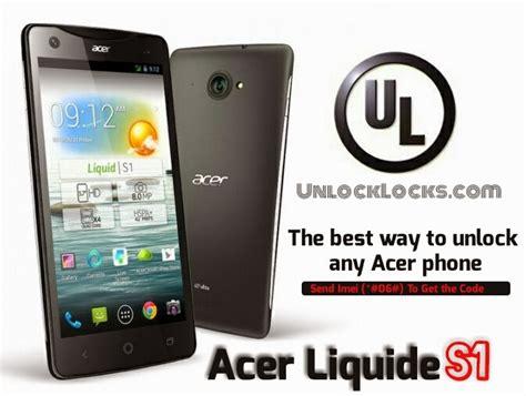 how to unlock my tmobile phone how to unlock acer liquid s1 by unlock code