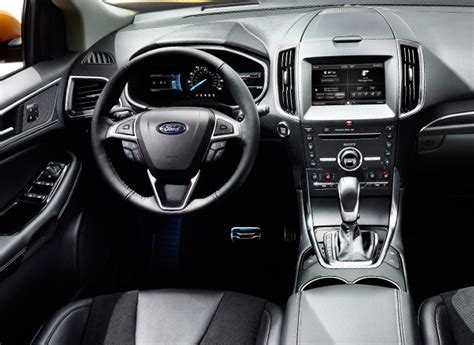 2015 Ford Edge Sport Interior by Redesigned 2015 Ford Edge Suv Piles On The Features