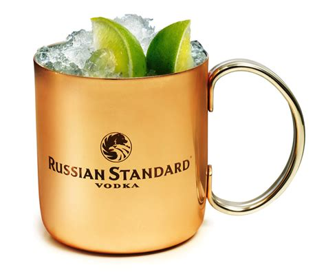 Russian Standard Moscow Mule Recipe