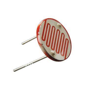 light dependent resistor symbol fotoresistenza 20 50 kohm raspberry pi arduino