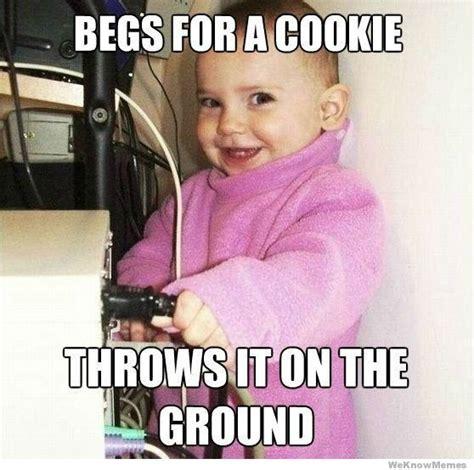 Child Meme - scumbag baby weknowmemes