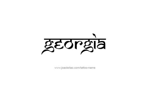 state of georgia tattoo designs design usa state 20 png