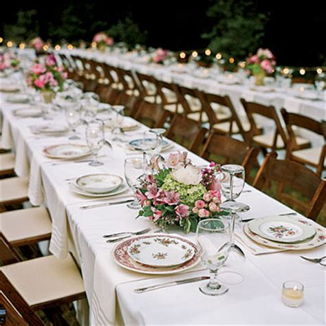 Table Settings For Weddings Wedding Centerpieces Decorations Dresses And Ideas