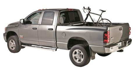 Thule Truck Rack by Thule Bed Rider 2 Bike Rack For Truck Beds Fork Mount