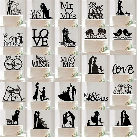 black decorations uk 25 best ideas about wedding cake toppers on
