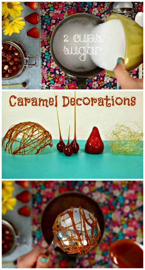 Caramel Decoration by Learn How To Decorate With Caramel Caramel Decorations