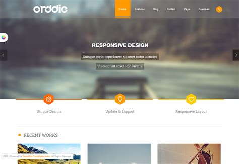 free template for joomla 20 best free responsive joomla templates neweb