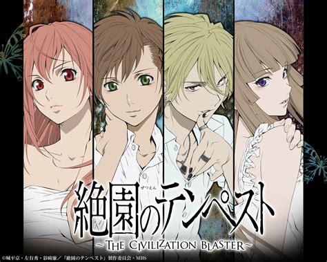 download film anime zetsuen no tempest zetsuen no tempest blast of tempest wallpaper