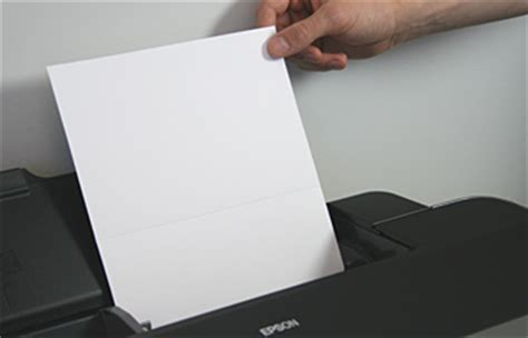 Printer That Folds Paper - bi fold cards to print invitations programs menus