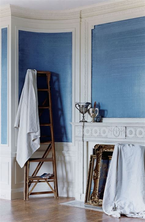 add contemporary character to traditional bolection molding with ralph paint s indigo