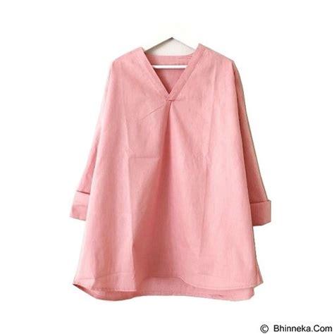 Salsabila Blouse Dusty Pink Tunik Atasan Wanita Baju Murah jual modenesia blouse richie dusty pink merchant murah bhinneka