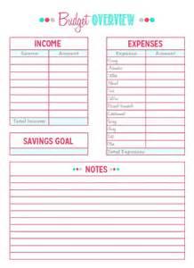 sle budget template free printable family budget worksheet abitlikethis