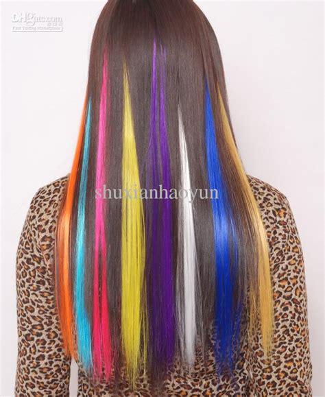 Jual Rambut Palsu Warna Warni jual hair clip kecil minihairclip rambut palsu wig fashion warna warni martob organizer