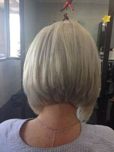 side view short modified stacked hairstyle 1000 images about hair color and styles on pinterest
