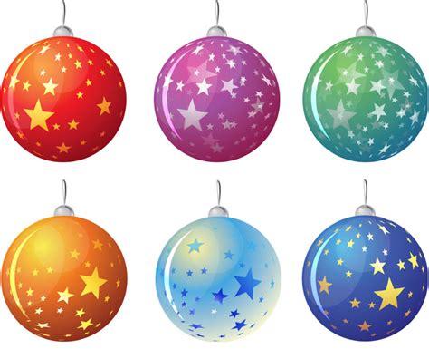 christmas tree balls christmas tree balls with stars vector vector graphics blog