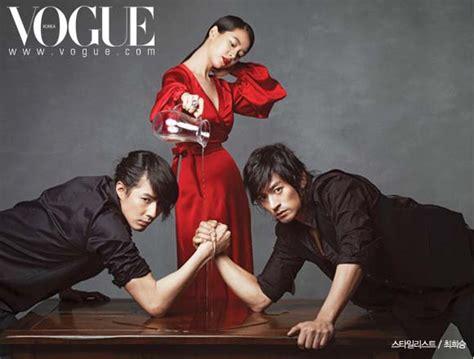film drama korea jo in sung joo jin mo and jo in sung in vogue my asian drama addiction