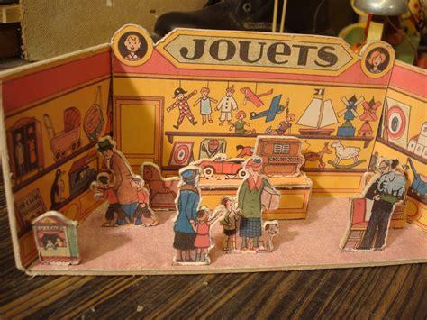 How To Make A Paper Shop - vintage paper cut out shop