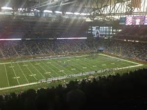 Detroit Lions Ford Field Ford Field Section 328 Row 14 Seat 12 Detroit Lions