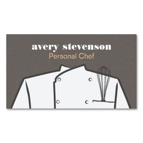 pered chef business cards template 94 best personal chef business images on