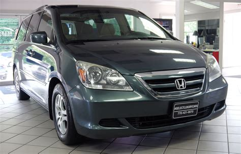 2006 Honda Odyssey Ex L by Used 2006 Honda Odyssey Ex L Marietta Ga