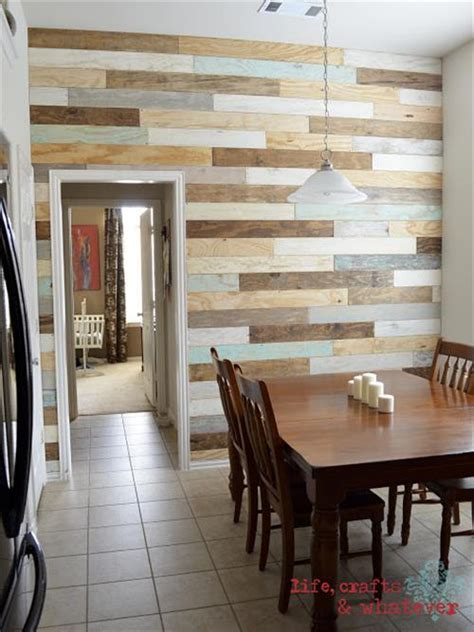 idea for wood metal mix decorations 10 wooden pallet plank wall ideas pallets designs