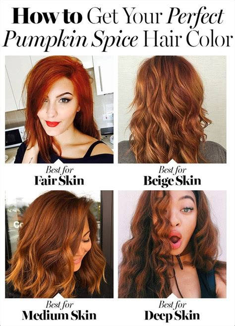 7 Hair Trends This Fall by Pumpkin Spice Hair Might Be The Hair Color Trend