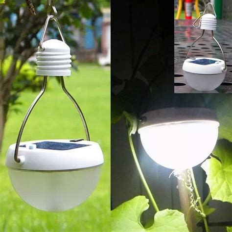solar powered tent lights waterproof 9 led solar power light sensor tent lantern