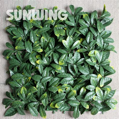plastic plants for the garden aliexpress buy 16pcs 10 quot by 10 quot outdoor artificial
