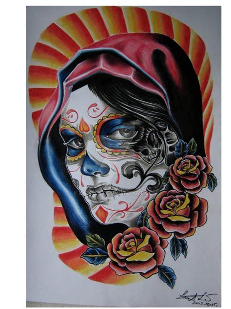Dia De Los Muertos By Lert On Deviantart Dia De Los Muertos Tattoos Pictures