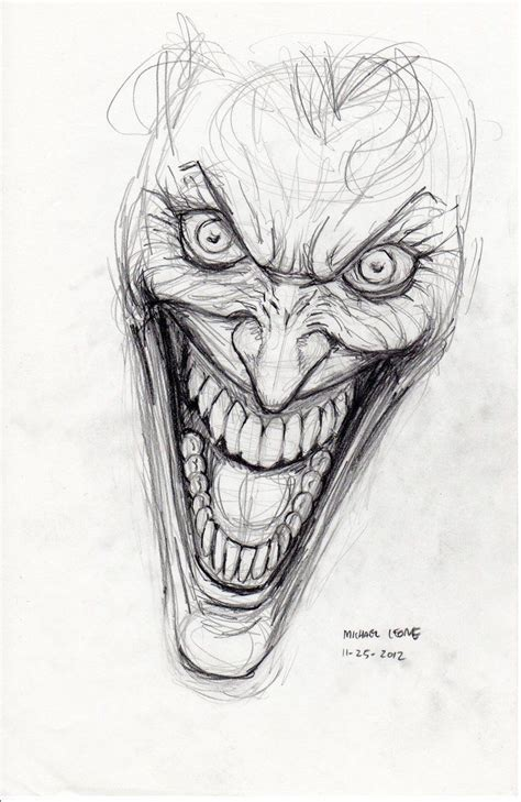 Drawing Joker by Best 25 Joker Sketch Ideas On Joker Drawings
