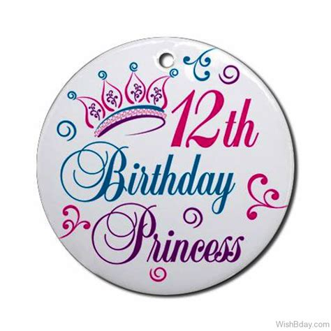 12 Wishes Of - 62 12th birthday wishes