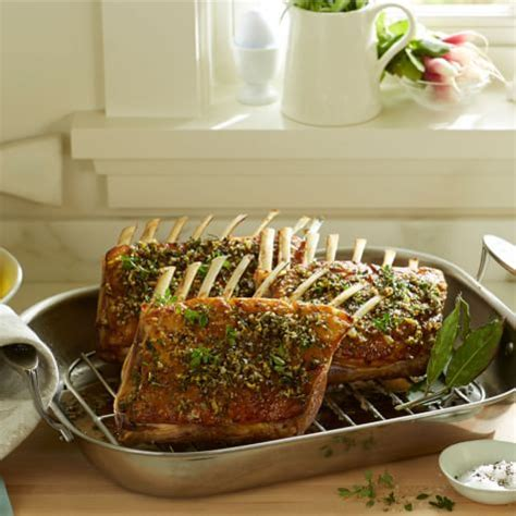 Herb Crusted Rack Recipe by Herb Crusted Rack Of Williams Sonoma