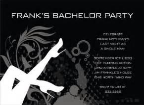 bachelor invitation template