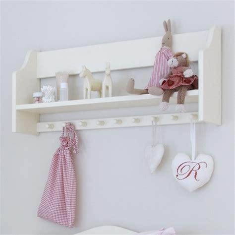 Shelf With Hooks Nursery by Nordic Nursery Shelf With Hooks Nordic Style