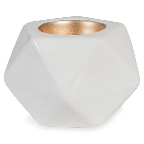 Kerzenhalter 7 Cm by Kerzenhalter Wei 223 H 7 Cm Origami Maisons Du Monde