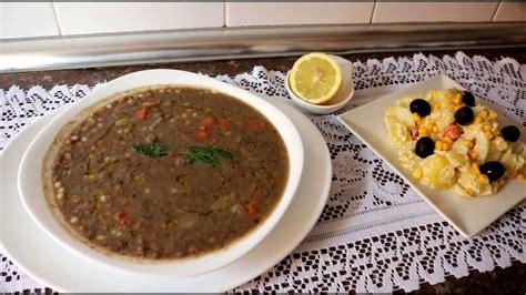 cuisine alg駻ienne cuisine alg 233 rienne lentilles aux l 233 gumes العدس بالخظار