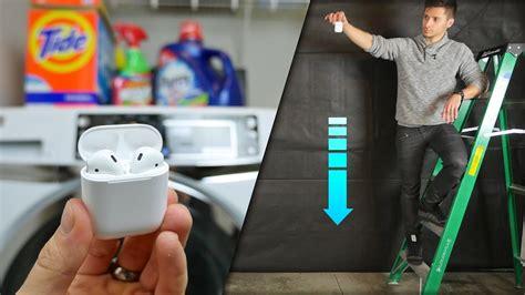airpods drop water test secretly waterproof doovi