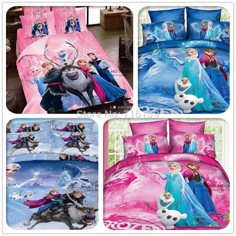 Elsa Bedroom Set by Children 3d Bedding Sets Princess Elsa Olaf